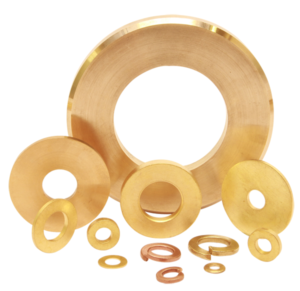 Brass Washers Copper washers DIn 125 Din 126 washers Bronze Washers