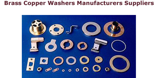 copper sealing washers 4